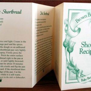 Shortbread Recipe Booklet