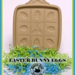 easter bunny shortbread grass a