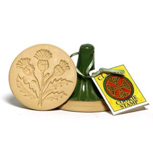 Celtic Thistle Cookie Stamp