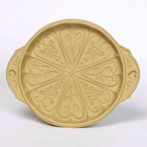 Hearts and Flowers Shortbread Pan