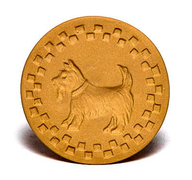 Scottie Dog Cookie Stamp